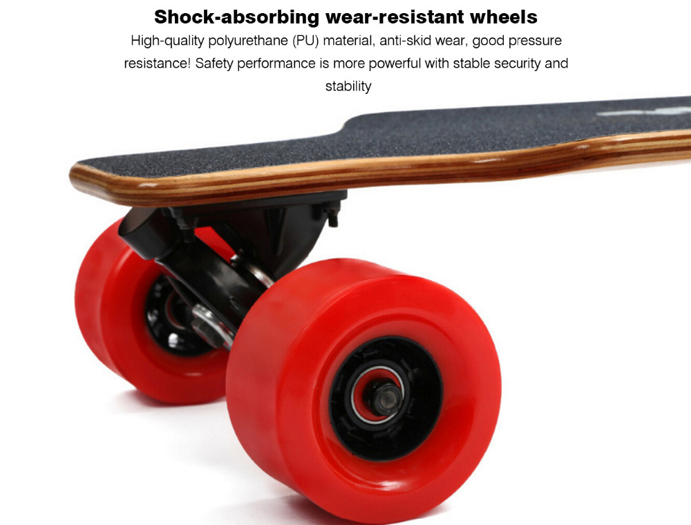 2017 newest Much lighter thinner electric skateboard 40km/h e hoverboard price with koowheel Dual Brushless Motors