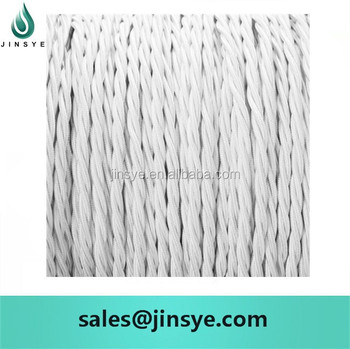 Flat Electrical Cotton Braided Copper Wire - Buy Braided Wire ...