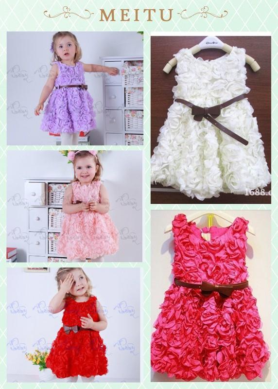EMS DHL Free Shipping Gorgeous Girls Princess font b Dress b font font b Fancy b