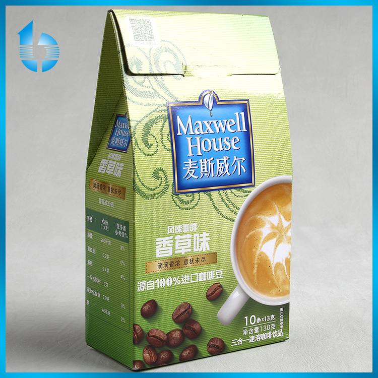 Zhejiang quality assurance factory supply & custom paper box with colorful printing for packaging ground coffee