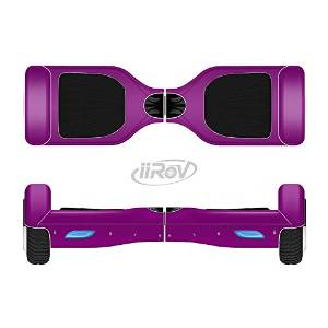 The Solid Dark Purple Full-Body Wrap Skin Kit for the iiRov HoverBoards and other Scooter (HOVERBOARD NOT INCLUDED)