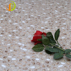 100% virgin Cobblestone grain plastic pvc luxury vinyl plank flooring