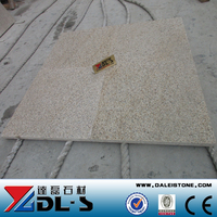 China Rusty Yellow Granite Honed G682 Granite Floor Tiles