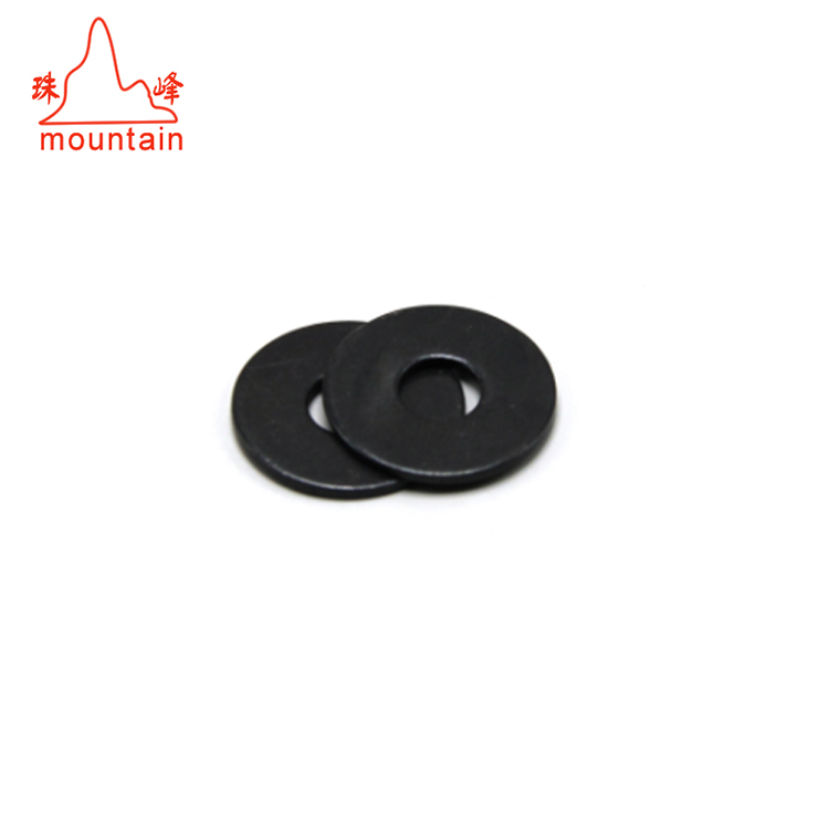 Flat Ring Washer Spring Washers Stainless Steel Zinc Plated Black Shim