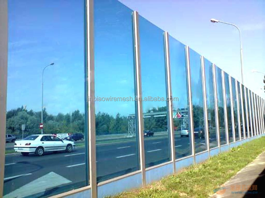 Outdoor Noise Reduction Polycarbonate Barrier
