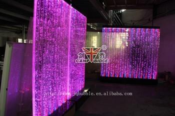 Restaurant decoratie ideeën water beschikt fonteinen schermen en