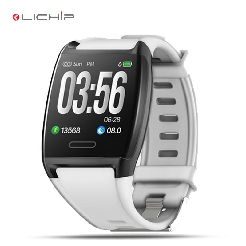 Alibaba.com / LICIHP L249 smart bracelet wristband band sport IP67 waterproof heart rate monitor blood pressure reloj watch smartwatch