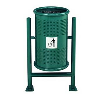 jinke urban furniture mesh metal dust bin waste bin litter bin garbage bin
