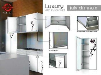 Luxury Fully Aluminium Kitchen Cabinet Buy Kitchen Cabinet