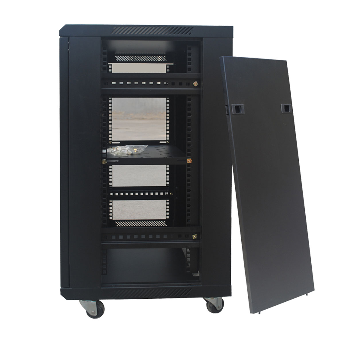 6412 Small Network Cabinet Wall cabinet 12u switch cabinet 0.7 m cabinet with tickets Cheap