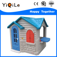 Game House kids playhouse toys plastic children house with modern toys for children