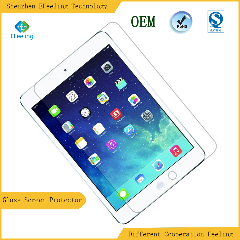 High Quality Transparency Ultrathin Anti-static Tempered Glass Screen Protector For Ipad Mini 4