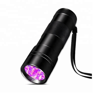 Factory Pet Stain Urine Detector Led Purple UV Torch 12Led UV Black Light Flashlight