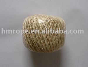 Nutural Sisal twine twisted 1 ply
