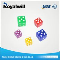 2016 New Design Customized Blank Dice Print Logo