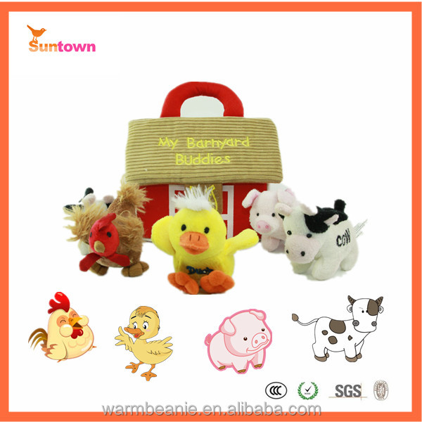 want to buy stuff from china stuffed have sound plush toys farm animals