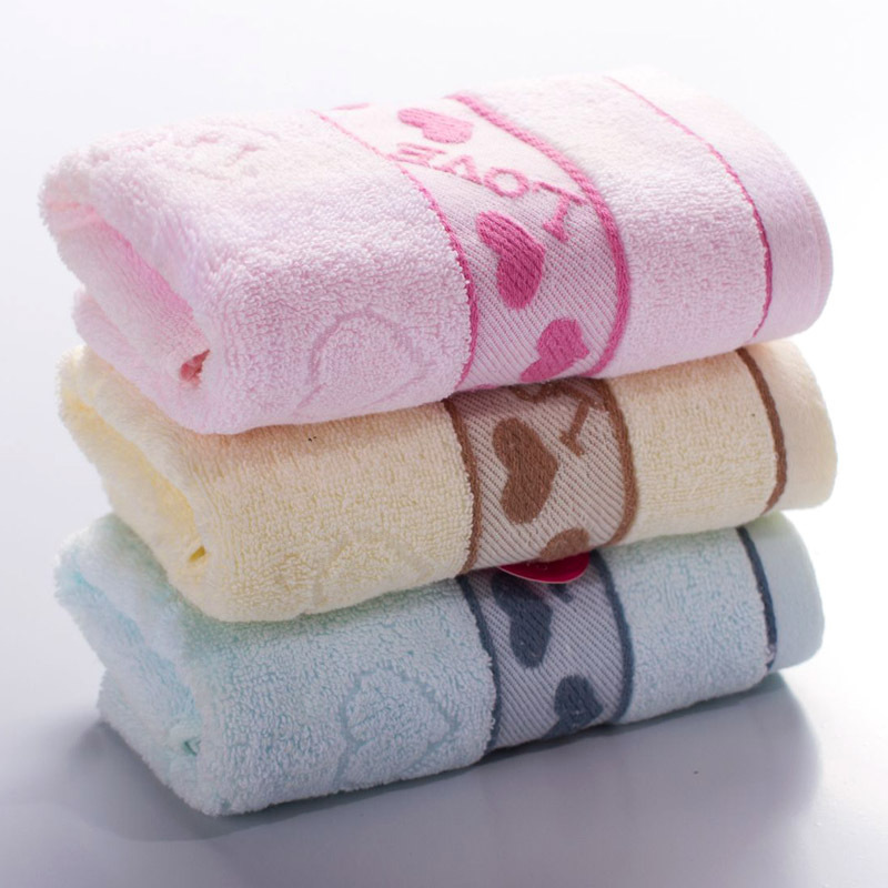 Washcloths For Sale: Hot-Sale-Cotton-Jacquard-Towel-Household-Embroidered
