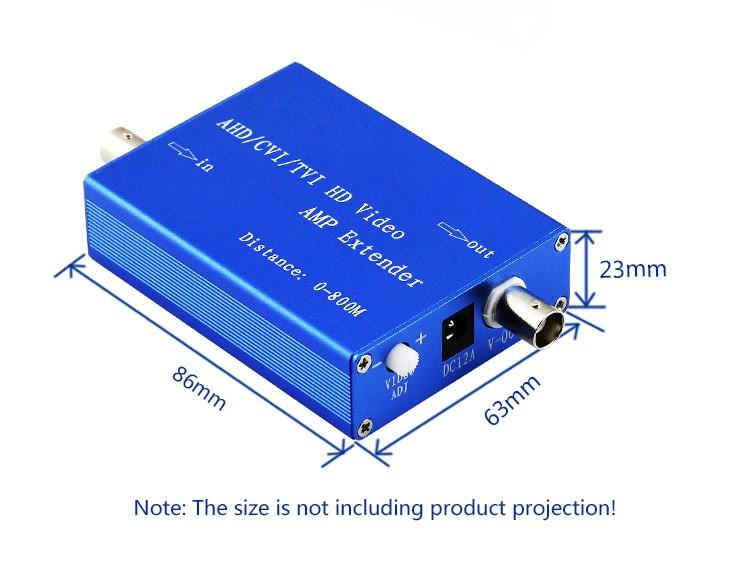 ahd/hdcvi/hdtvi coax video amplifier