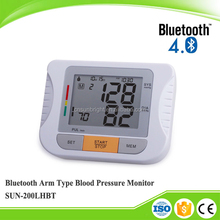 Bluetooth Newly Arm Blood Pressure Monitor LCD Monitor