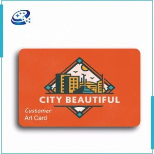 Personalized Printing Visa Thin 3D Lenticular Customized Gift Plastic Card