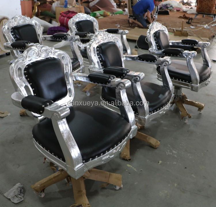 Used Salon Chairs >> Danxueya Salon Chair Crystal Salon Styling Chairs Leather Black