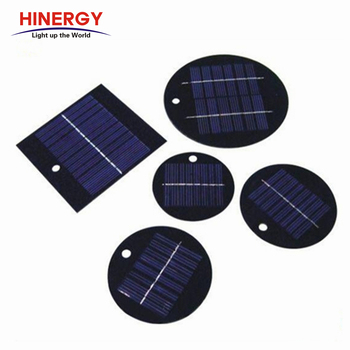 Hinergy High Quality Epoxy Resin Round Shape Solar Panel