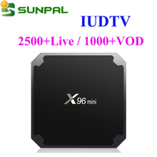 Arabic USA India IPTV Channels IUDTV IPTV 1 Year with Free Test Code IUDTV IPTV subscription on Android tv box X96 Mini