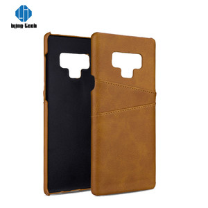 Ultra Slim 2 +1 PC PU Leather Wallet Phone Accessory Back Covers Case For Samsung Galaxy Note 9