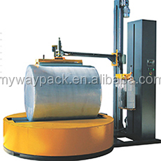 High quality Turntable stretch pallet wrapping machine in Factory selling