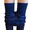 High quality knitted velvet thick elastic winter warm tights for woman