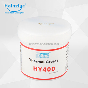 Halnziye HY410 white thermal grease with high temperature and best cost-effective advantage use in cpu