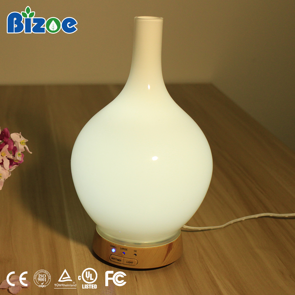 Glass Aroma Difuser Humidifier Ultrasonic Aromatherapy Essential Oil Diffuser