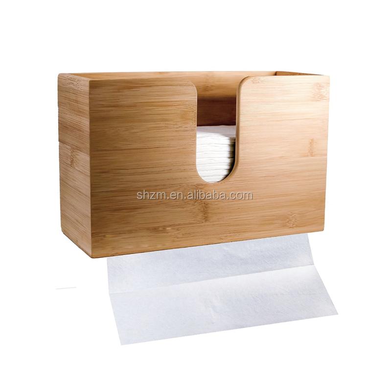 Bamboo Paper Towel Dispenser For