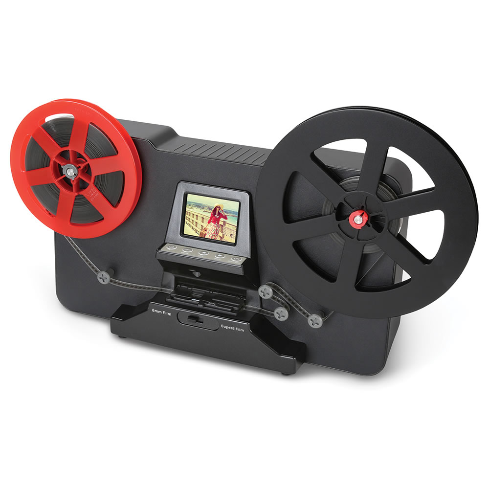 New and Practical Super 8mm Roller Film to Video Converter Scanner New Film Scanner