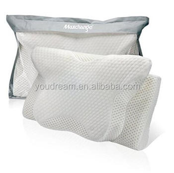 Cervical Pillow For Back And Side Sleepers Maxchange Ergonomic Bed