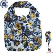 2017 hot sale Customisable printing foldable polyester bag