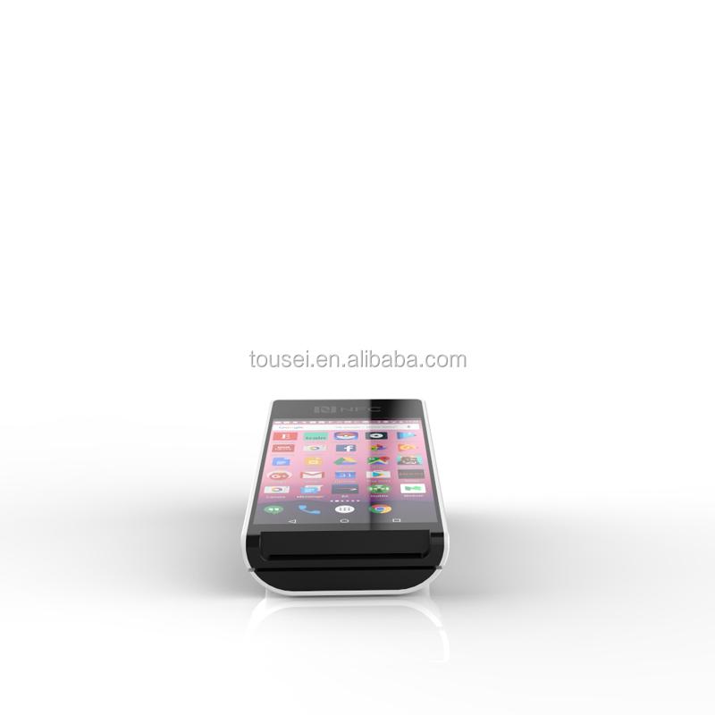 5 pouces Écran Tactile Android Carte PSAM Banque POS Machine avec logiciel pour le Supermarché