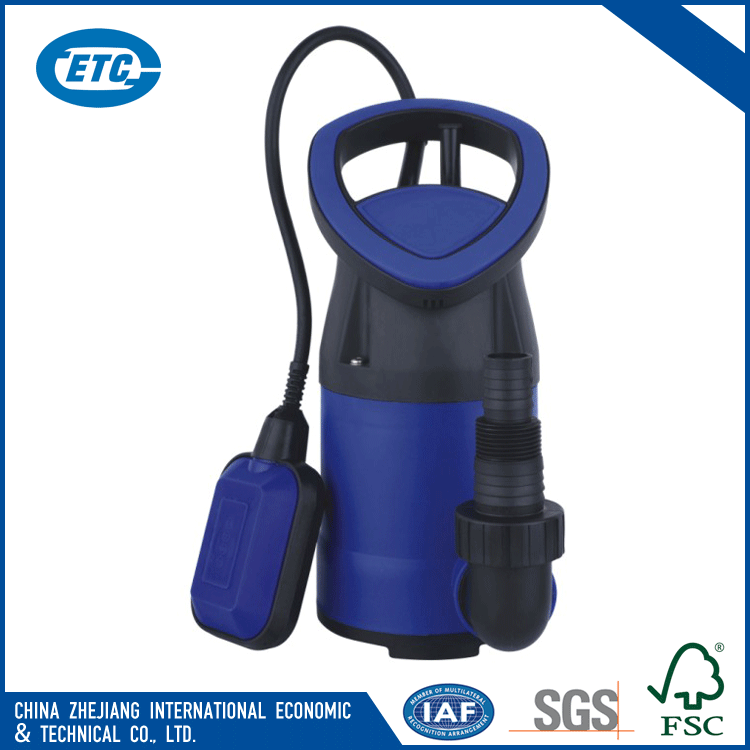 Low Pressure New Type Electric Submersible Clean Water Pump For Garden Irrigation