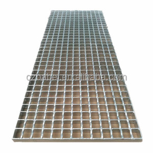 hot dipped galvanized press welded 2mm steel grating for drainage channel