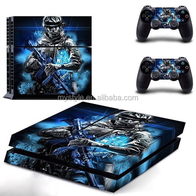 New Call of Duty Decay Sticker Skin Cover for Sony PlayStation 4 PS4 Console And Controller