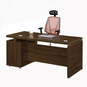 Melamine Wooden Large Office Executive Desk Furniture With Side Table View Chuangfan Excutive