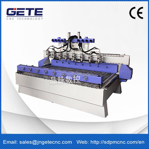 High-speed multihead cnc router 3d &2d GT-1325