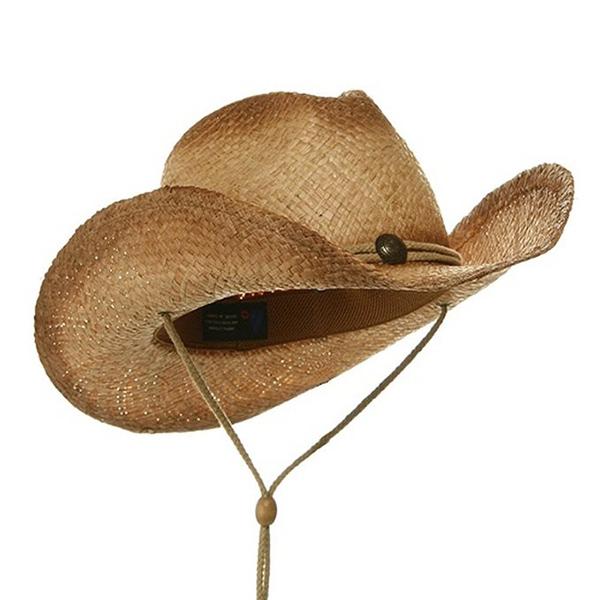 Commercio all ingrosso Divertente Paglia Cappello Da Cowboy Con il Punto  croce d826ab32f28e