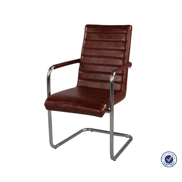 Brushed Stainless Steel Frame Chair DC 1490