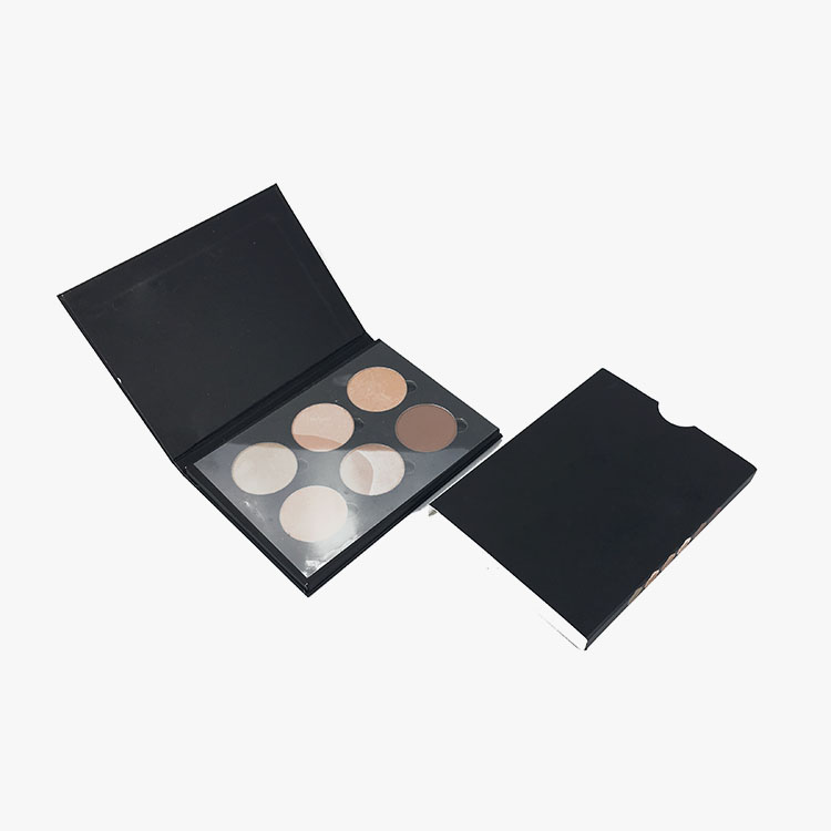 Fashion cube cardboard boxes 35 color eyeshadow palette