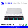 2U rack mount hot swap storage server CCTV DVR case 8 bays