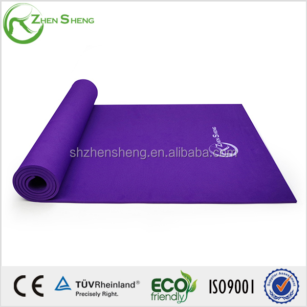 Purple non-slip and durable with density yoga mat