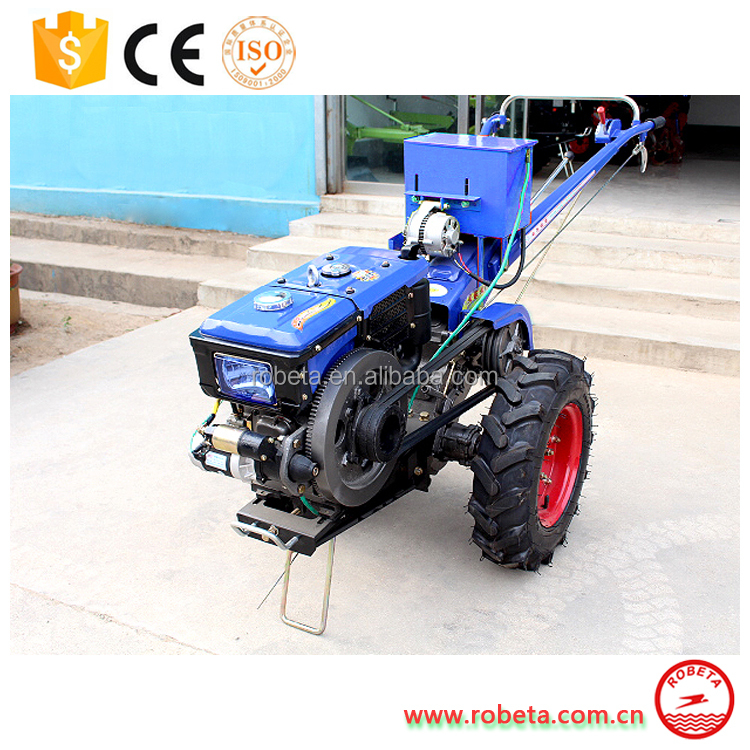 2017 hot sale low price rotary hoe walking tractor with plow