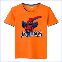 High quality wholesale uk 100% cotton clothing custom child tshirt with ultraman for boy