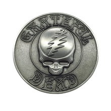<span class=keywords><strong>3D</strong></span> Casting Antike Benutzerdefinierte Metall Grateful Dead Revers Pins